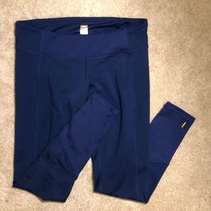 lucy blue midrise lucytech leggings